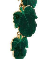 Nevernot Charm Earrings Green
