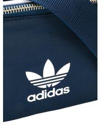 Adidas Blue Adicolour Belt Bag for men