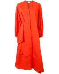 Enfold シャツドレス Orange