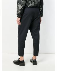 OAMC Blue Cropped Trousers for men