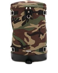 Saint Laurent Green Rivington Convertible Backpack for men