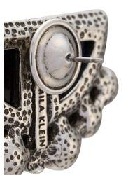 Camila Klein Metallic Embellished Earrings