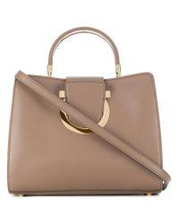 Ferragamo - Natural Thea Shoulder Bag - Lyst