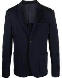 メンズ Prada テーラードジャケット Blue