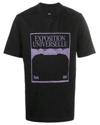 OAMC T-Shirt mit grafischem Print in Black für Herren