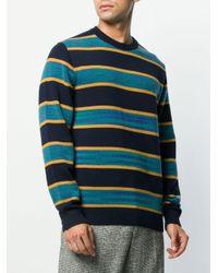 メンズ Missoni ストライプ セーター Blue