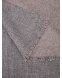 Denis Colomb - Gray Frayed Scarf - Lyst