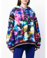 Sudadera con estampado abstracto Koche de color Multicolor