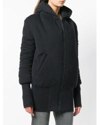 Ann Demeulemeester Black Bomber Jacket