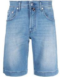メンズ Jacob Cohen デニムショートパンツ Blue