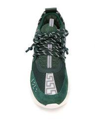 Кроссовки Chain Reaction Versace для него, цвет: Green