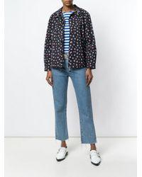 Essentiel Antwerp Black Crystal Collar Shirt Jacket