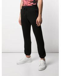 Pantalones de chándal de talle medio John Elliott de hombre de color Black