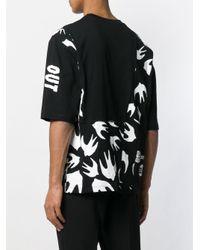 T-shirt Recycled imprimé McQ Alexander McQueen pour homme en coloris Black
