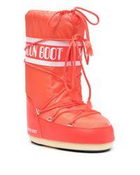 Moon Boot Icon スノーブーツ Orange