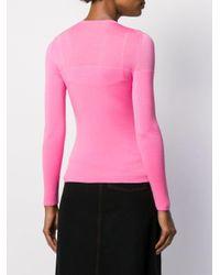 Pull en maille fine Mrz en coloris Pink