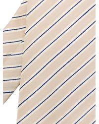 Corbata con rayas diagonales Brioni de hombre de color Multicolor