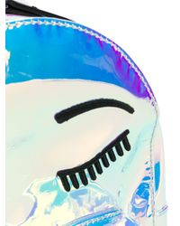 Zaino Winking Eye di Chiara Ferragni in Blue