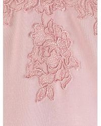 La Perla フローラル ドレス Pink