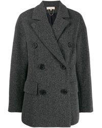 Vanessa Bruno オーバーサイズ ダブルジャケット Gray