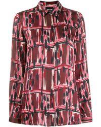 Just Cavalli プリントシャツ Red