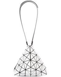 Bao Bao Issey Miyake - White Triangle Shoulder Bag - Lyst