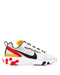 Nike 'React Element 55' Sneakers in White für Herren