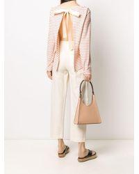 Erika Cavallini Semi Couture オープンバック プルオーバー Pink