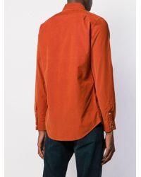 Camisa de manga larga PS by Paul Smith de hombre de color Orange