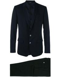 Dolce & Gabbana Black Two-piece Formal Suit for men