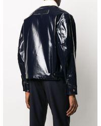 メンズ Valentino オーバーサイズ ジャケット Blue