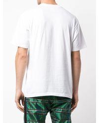 メンズ Supreme ロゴ Tシャツ White