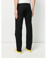 メンズ Engineered Garments ストレート パンツ Black