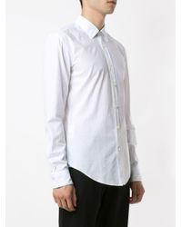 HUGO 50411809 100 WHITE Natural (Veg)->Cotton BOSS de hombre