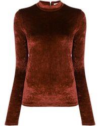 Maglione con zip posteriore di Sonia Rykiel in Multicolor