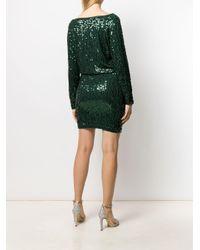 P.A.R.O.S.H. スパンコール ドレス Green