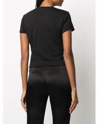 Area デコラティブ Tシャツ Black