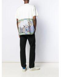 メンズ Givenchy グラフィック Tシャツ White