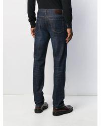 Jeans slim di Z Zegna in Blue da Uomo
