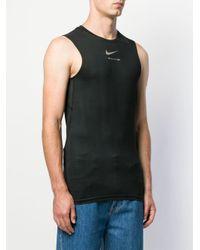 メンズ 1017 ALYX 9SM ロゴ タンクトップ Black