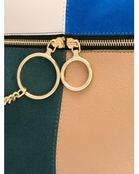 Patchwork tote bag di See By Chloé in Multicolor