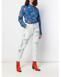 Pantalon Lea Étoile Isabel Marant en coloris Blue