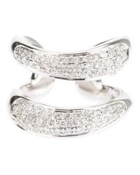 Gavello Metallic Diamond Ring