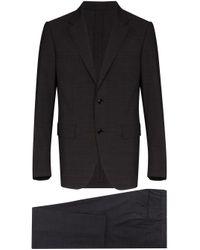 メンズ Ermenegildo Zegna ツーピース テーラードスーツ Gray