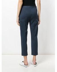 Fabiana Filippi Blue Cropped Trousers