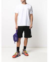 T-shirt con ricamo di Marcelo Burlon in White da Uomo