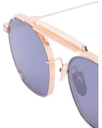 Jacques Marie Mage Metallic Victorio Sunglasses