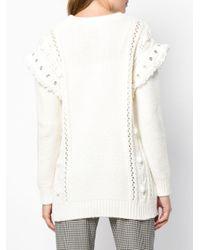 Maglione di RED Valentino in White