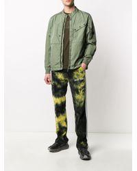 メンズ C P Company M.t.t.n レンズディテール ジャケット Green