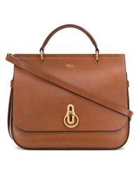 Mulberry Brown Amberley Shoulder Bag